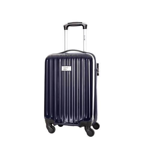 Steve Miller Blue Marine 4 Wheel Rigid Eagle Cabin Suitcase 46 cm