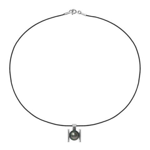 Ateliers Saint Germain Black/Silver Lien Damour Tahiti Pearl Necklace