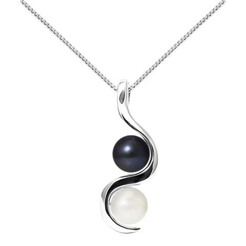 Ateliers Saint Germain Natural White/Black Tahitian Style White Gold Pendant