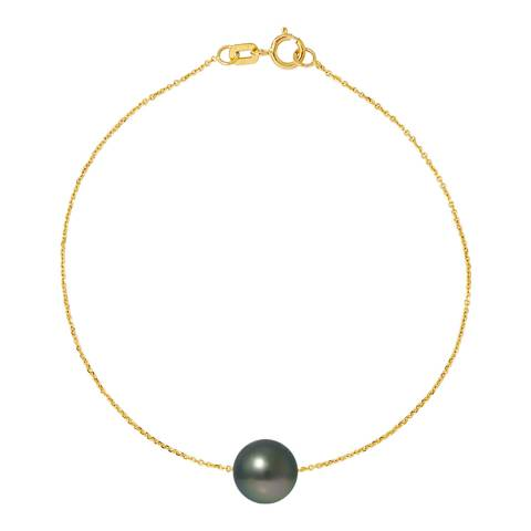 Atelier Pearls Yellow Gold Tahiti Pearl Bracelet