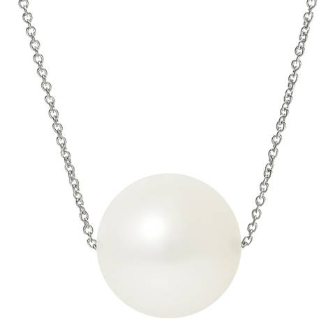 Ateliers Saint Germain Natural White/White Gold Freshwater Pearl Necklace