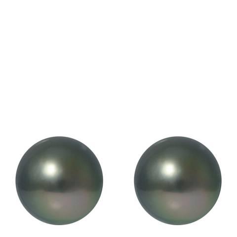 Ateliers Saint Germain Silver Tahiti Pearl Earrings 8-9mm