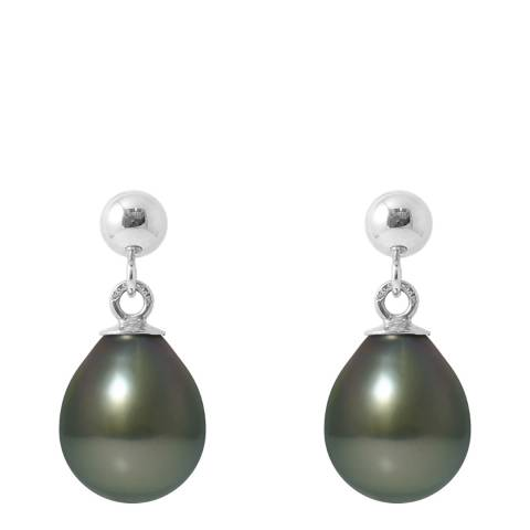 Ateliers Saint Germain Silver Tahiti Pearl Earrings