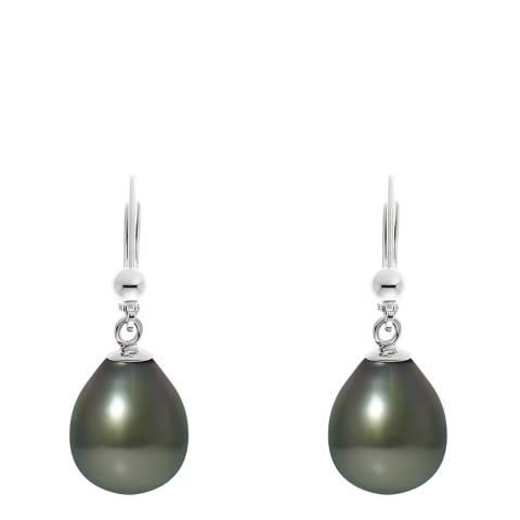 Ateliers Saint Germain Silver Tahiti Pearl Earrings