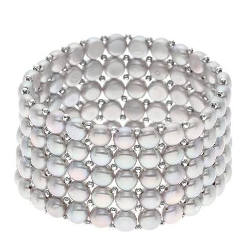 Ateliers Saint Germain Natural Grey Freshwater Pearl Bracelet