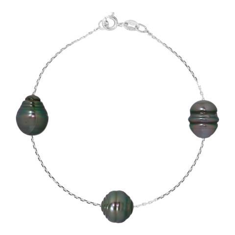 Atelier Pearls Silver Tahiti Pearl Bracelet