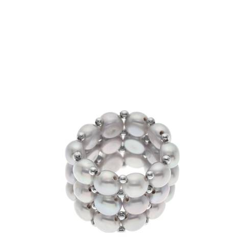 Ateliers Saint Germain Natural Grey Freshwater Pearl Ring
