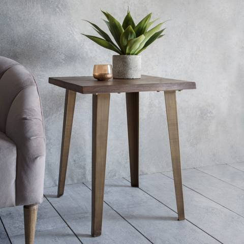 Gallery Oak Foundry Side Table