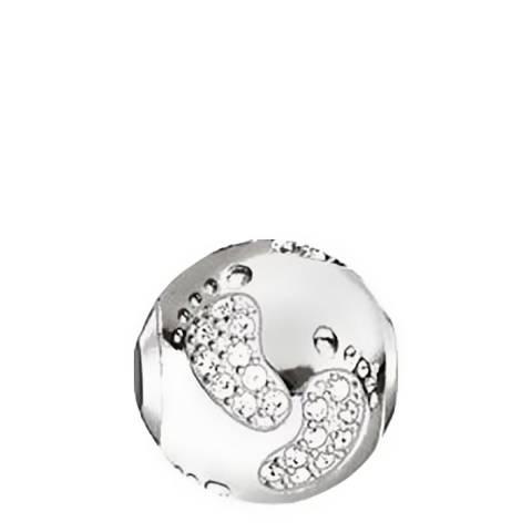 Thomas Sabo Silver Karma Baby Footprint Bead