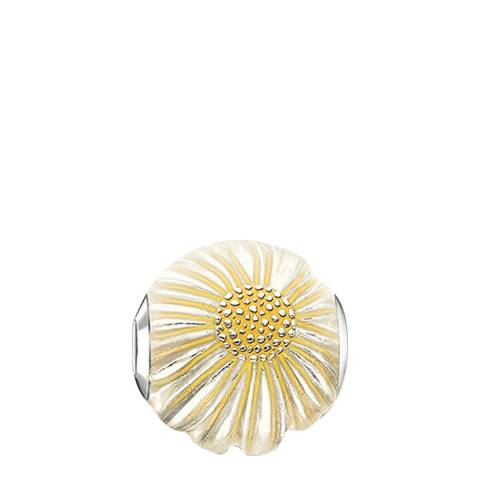Thomas Sabo Yellow/Silver Daisy Bead