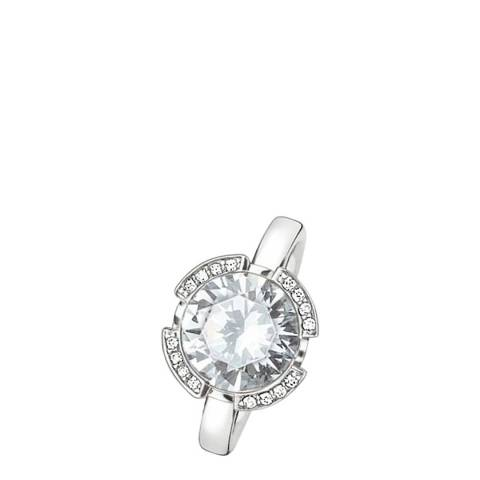 Thomas Sabo Silver/White Zirconia Ring