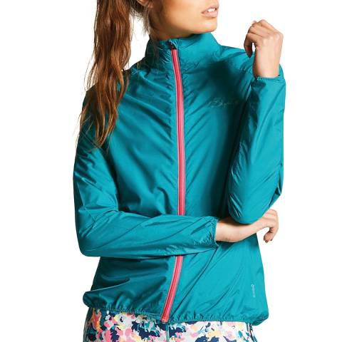 Dare2B Women's Turquoise Blighted II Windshell Jacket