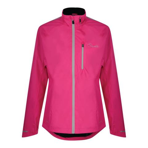 Dare2B Cyber Pink Waterproof Mediator Jacket