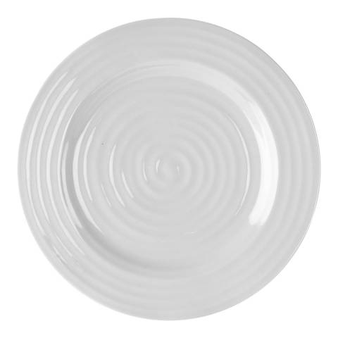 Sophie Conran Grey Set of 4 Dinner Plates