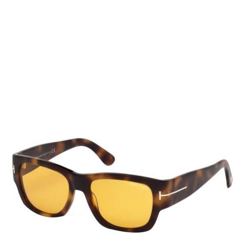 Tom Ford Women's Tortoise Stephen Sunglasses 54mm