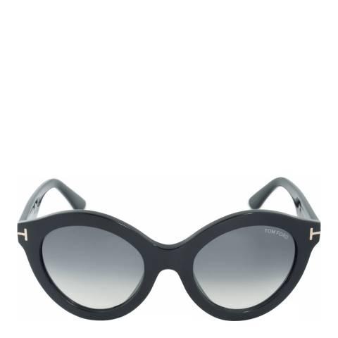 Tom Ford Women's Black Chiara Sunglasses 55mm
