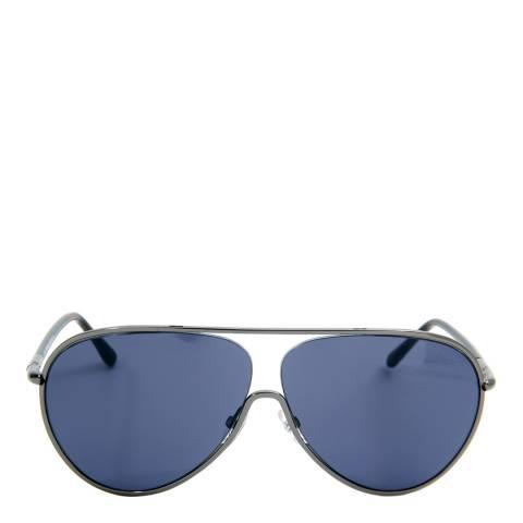 Tom Ford Women's Shiny Gunmetal/Brown Cecillio Sunglasses 62mm