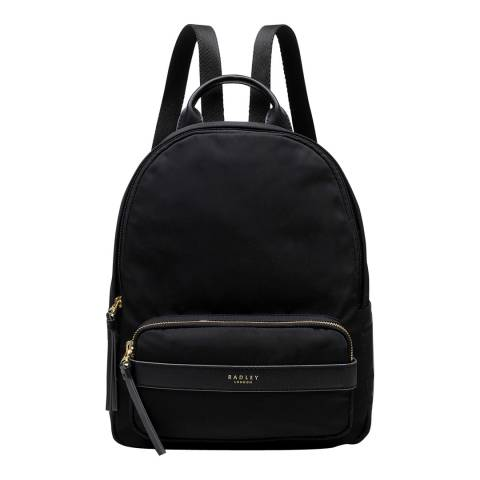 Radley Black Harley Medium Ziptop Backpack