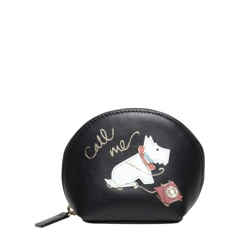 Radley Black Call Me Leather Small Coin Purse