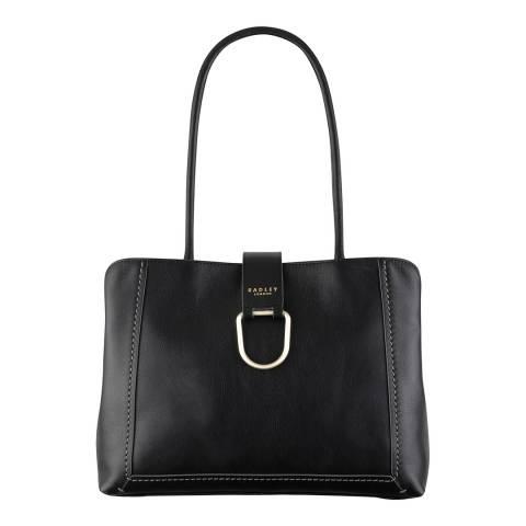 Radley Black Primrose Hill Leather Large Tote Bag