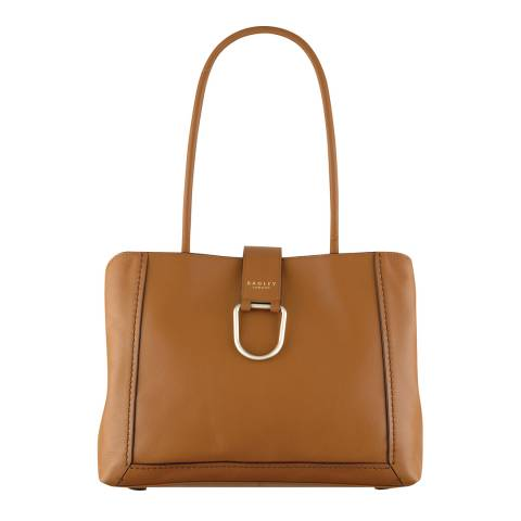 Radley Tan Primrose Hill Leather Large Tote Bag