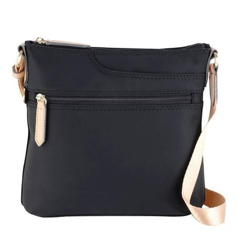 Radley Black Pocket Essentials Small Ziptop Cross Body