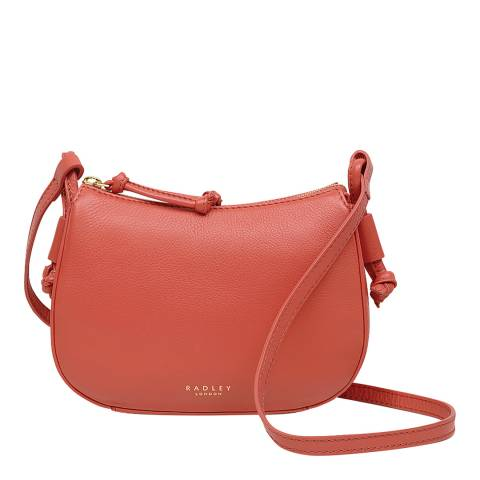 Radley Coral Bayford Small Zip Top Crossbody