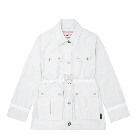 Hunter Women's White Refined Garden Jacket