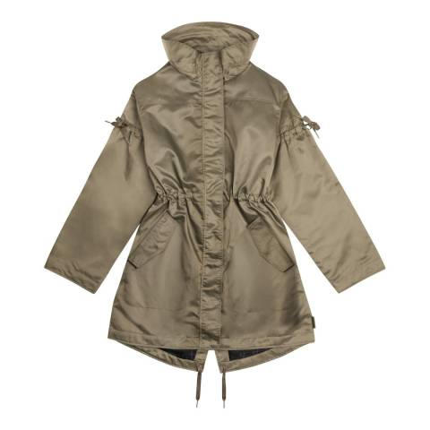 Hunter Women's Khaki Original Refined Drawstring Coat