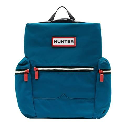 Hunter Blue Original Mini Top Clip Nylon Backpack