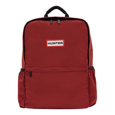 Hunter Red Original Large Nylon Backpack