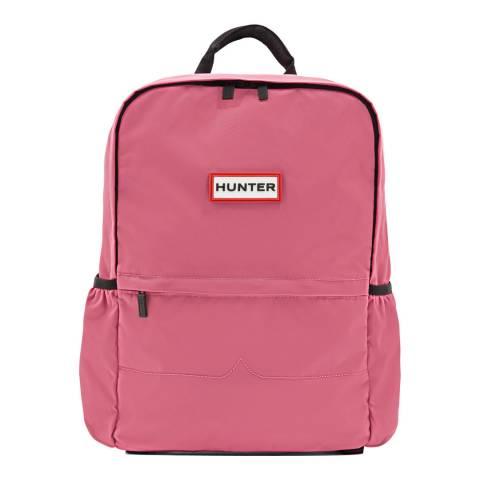 Hunter Pink Original Large Nylon Backpack