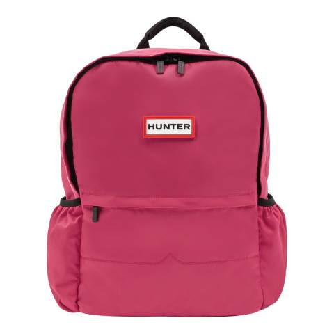Hunter Dark Pink Original Large Nylon Backpack