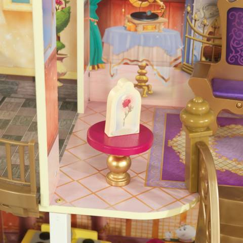 Disney Princess Belle Enchanted Wooden Dollhouse With