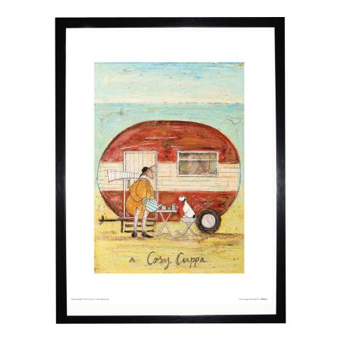 Paragon Prints A Cosy Cuppa Framed Print, 30x40cm