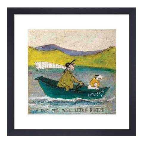 Sam Toft A Day out with Little Betty 40x40cm