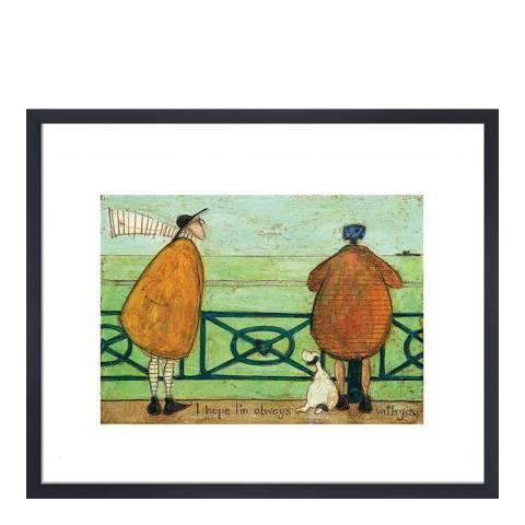 Sam Toft I Hope Im Always with You Framed Print, 30x40cm