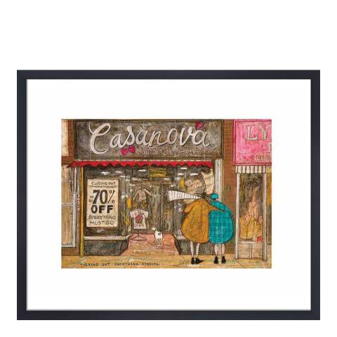 Sam Toft Picking Out Something Special Framed Print, 30x40cm