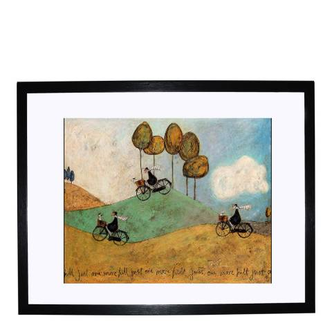 Paragon Prints Just One More Hill Framed Print, 40x50cm
