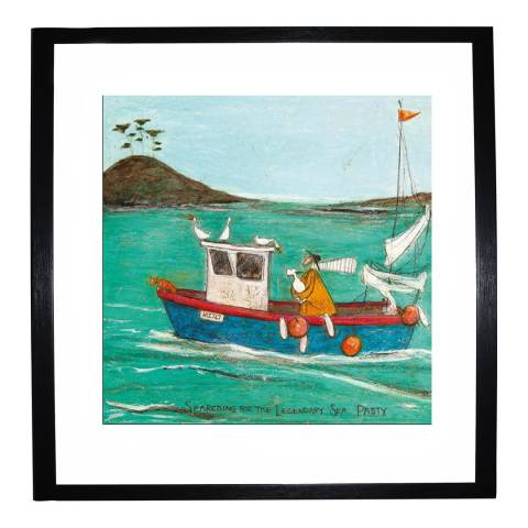 Paragon Prints Searching for the Legendary Sea Pasty Framed Print, 40x40cm