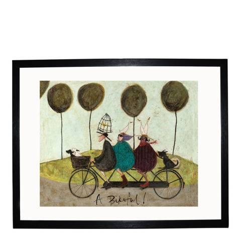 Paragon Prints A Bikeful! Framed Print, 40x50cm