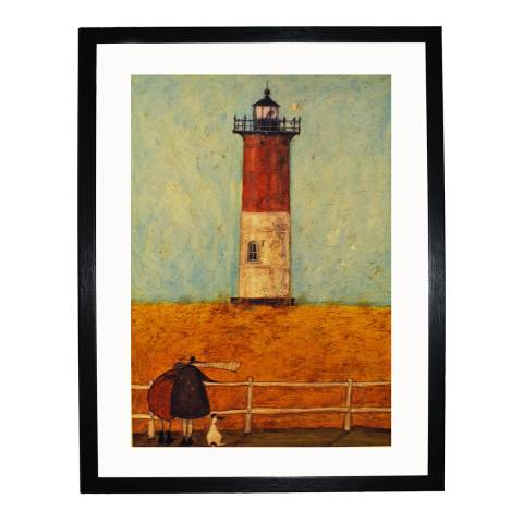 Paragon Prints Feeling the Love at Nauset Light Framed Print, 30x40cm