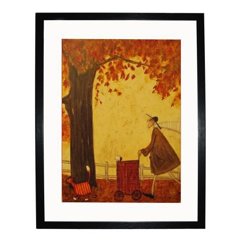 Paragon Prints Following the Pumpkin Framed Print, 40x50cm