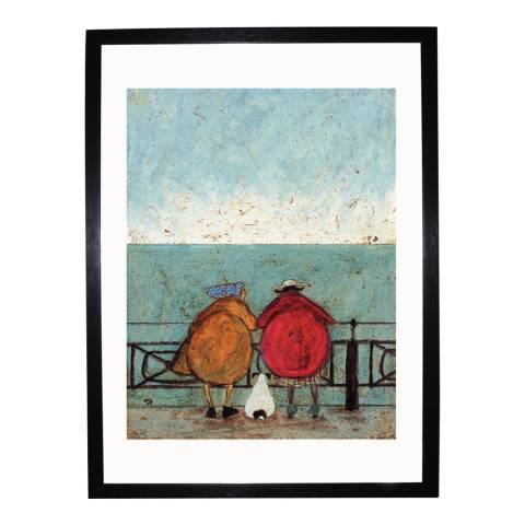 Paragon Prints Doris Earwigging Framed Print, 50x40cm