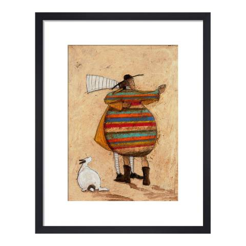 Sam Toft Dancing Cheek to Cheeky 40x30cm