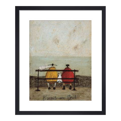 Paragon Prints Bums on Seat Framed Print, 50x40cm