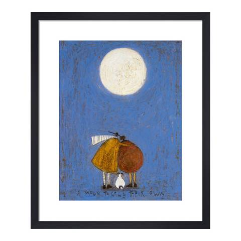 Paragon Prints A Moon to Call Their Own Framed Print, 50x40cm