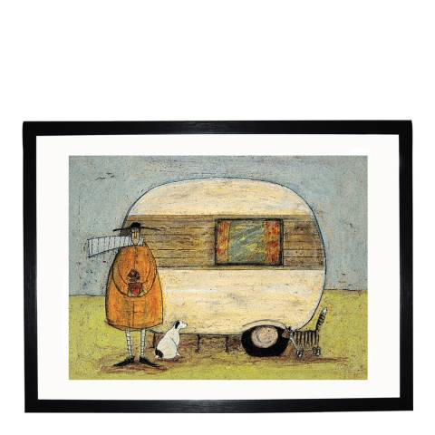 Paragon Prints Home from Home Framed Print, 30x40cm