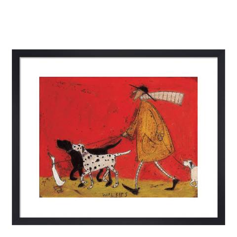 Paragon Prints Walkies Framed Print, 40x50cm