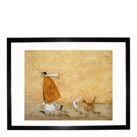 Paragon Prints Ernest, Doris, Horace & Stripes Framed Print, 40x50cm